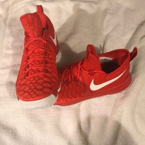 Authentic KD9's Varsity Red